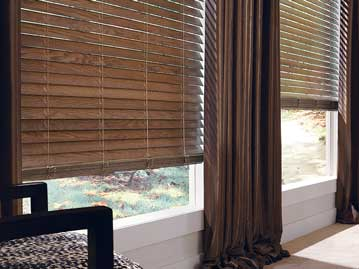 Chalet Wood Blinds